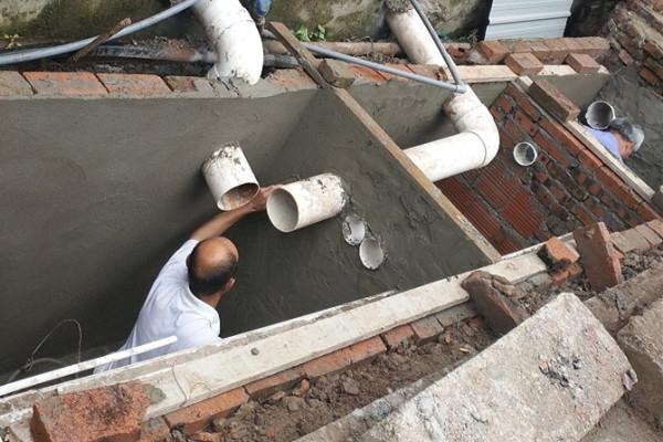 隔油池修建